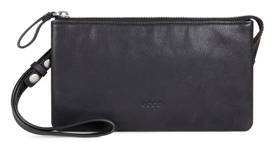 ECCO Handa Clutch Wallet (BLACK)
