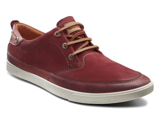 ECCO Collin Nautical Sneaker (PORT/PORT)