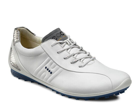 ECCO Mens BIOM Zero Golf (WHITE/ROYAL)