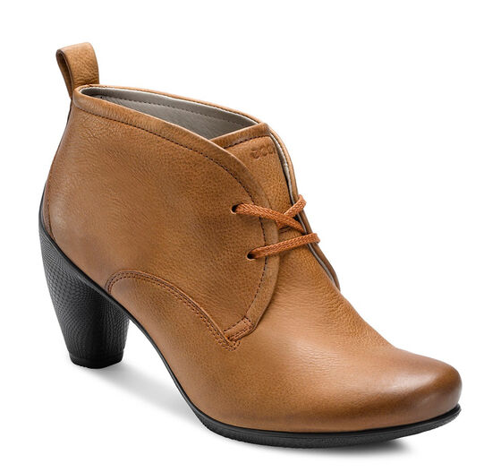 ECCO Sculptured 65 Lace Bootie (AMBER)