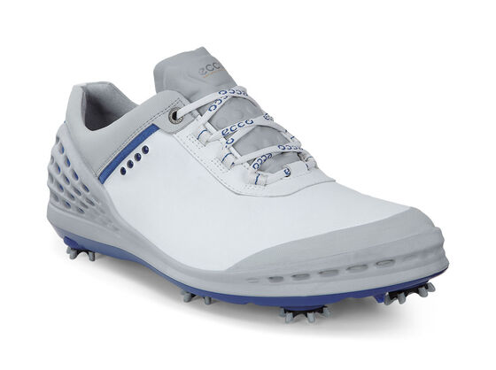 ECCO Mens Cage (WHITE/ROYAL)
