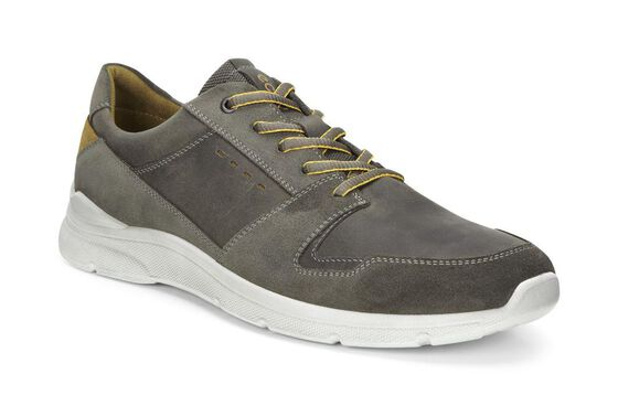 ECCO Irondale Retro Low (WARM GREY/TARMAC)