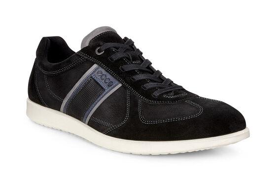 ECCO Indianapolis Sneaker (BLACK/BLACK)