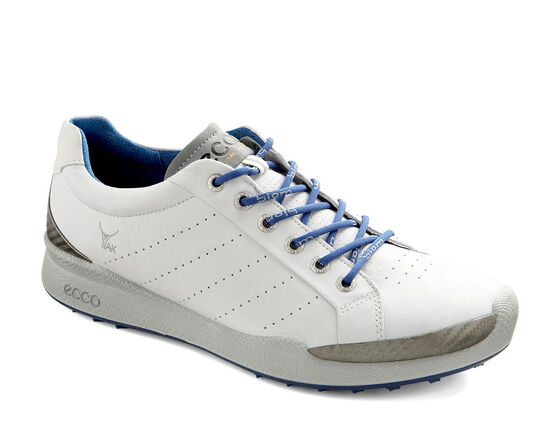 ECCO Mens BIOM Golf Hybrid (WHITE/ROYAL)
