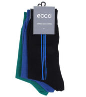 ECCO Cotton Business Sock 3 Pk (MIX COLOR)
