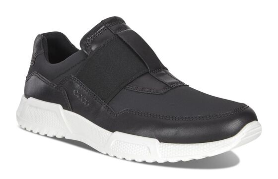 ECCO Luca Elastic Slip On (BLACK/BLACK)
