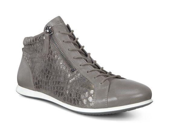 ECCO Touch Sneaker High Top (WARM GREY/WARM GREY)