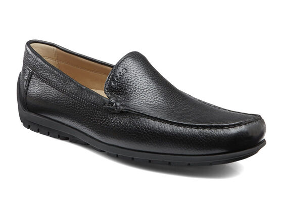 ECCO Soft Slip On (BLACK)