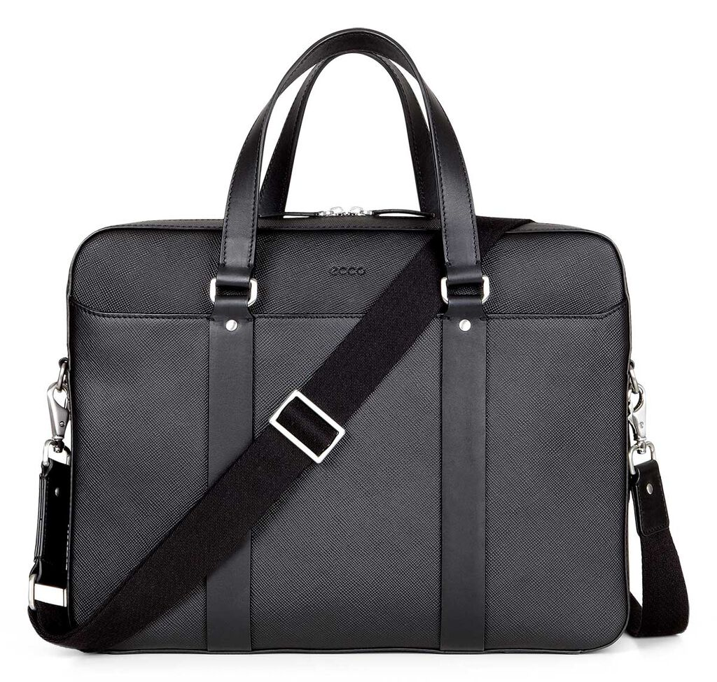 ECCO Glenn Briefcase (BLACK)