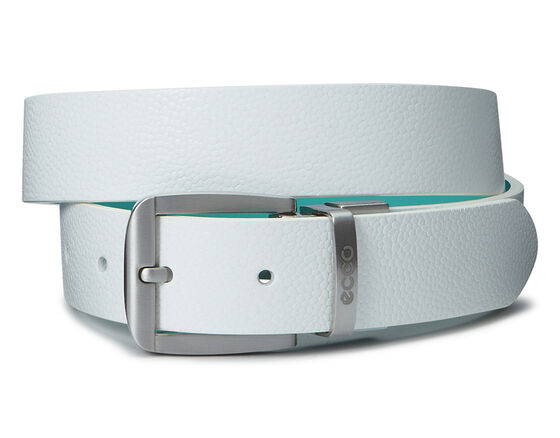 ECCO Dailey Ladies Belt (WHITE/TURQUISE)