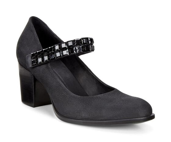 ECCO Shape 55 Mary Jane (BLACK/BLACK)