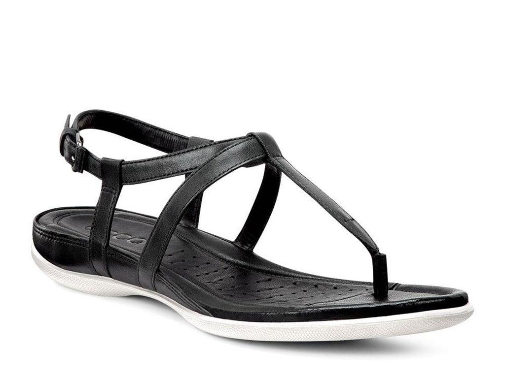 Black ecco sandals - Ecco Flash T Strap Sandalecco Flash T Strap Sandal In Black 02001