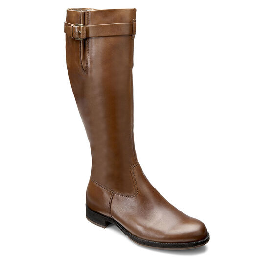 ECCO Saunter Tall Boot (CAMEL)