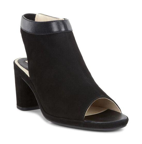 TABORA Boot Sandal60mm (BLACK/BLACK)