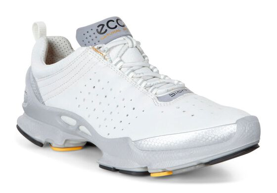 ECCO Womens BIOM C 2.1 (SILVER METALLIC/WHITE)