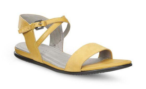 ECCO Touch Ankle Sandal (SAFFRON/SAFFRON)