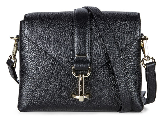 ECCO Isan Small Crossbody (BLACK)