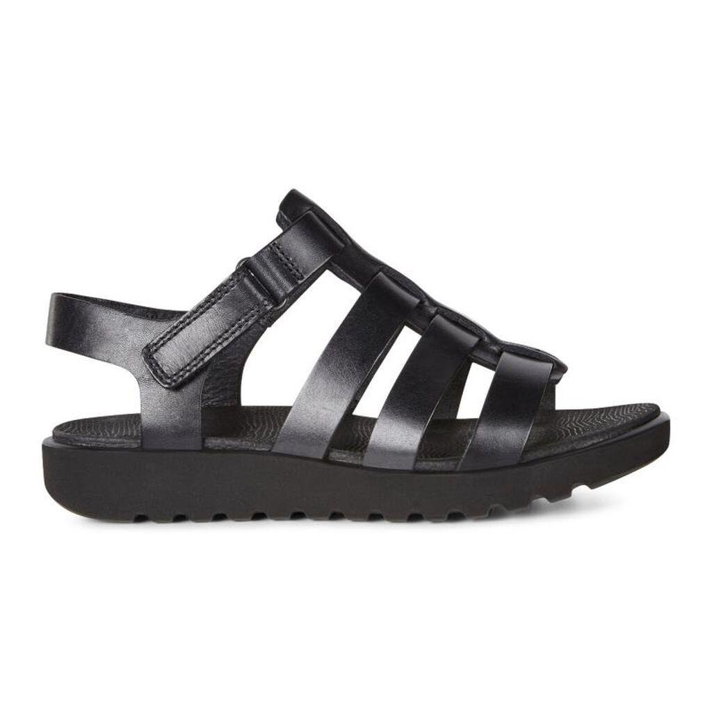Black ecco sandals -  Ecco Freja Ankle Sandalecco Freja Ankle Sandal In Black 02001