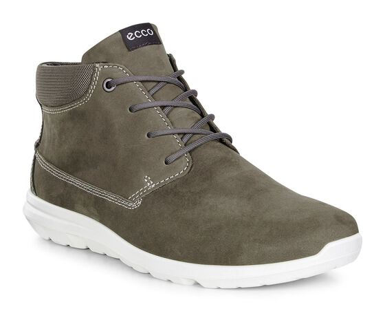 ECCO Mens Calgary High (TARMAC/DARK SHADOW)