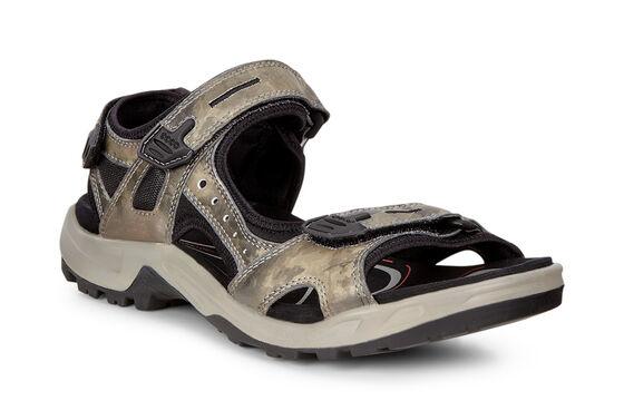 ECCO Mens Yucatan Sandal (TARMAC)