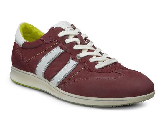 ECCO Jogga Textile Sneaker (PORT/BRICK/WILD DOVE/WHITE)