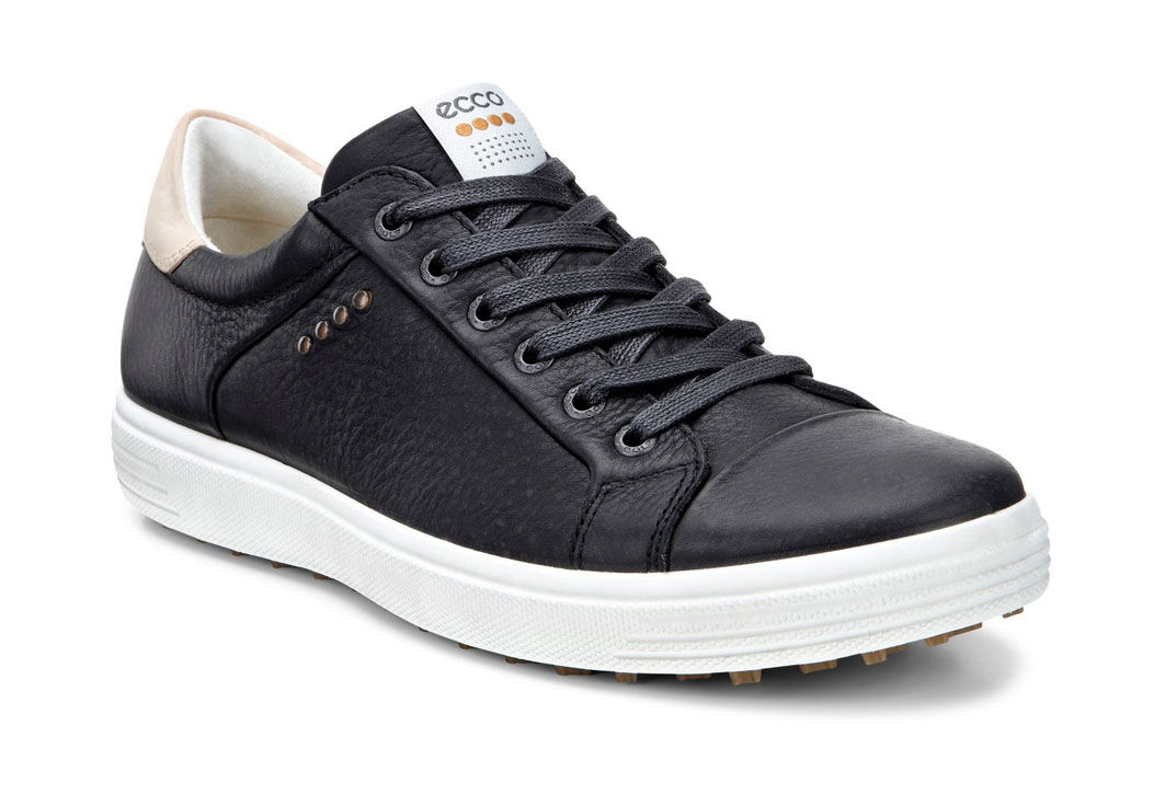 Men's ECCO 'Casual Hybrid' Golf Shoe, Size 8-8.5US / 42EU - Black