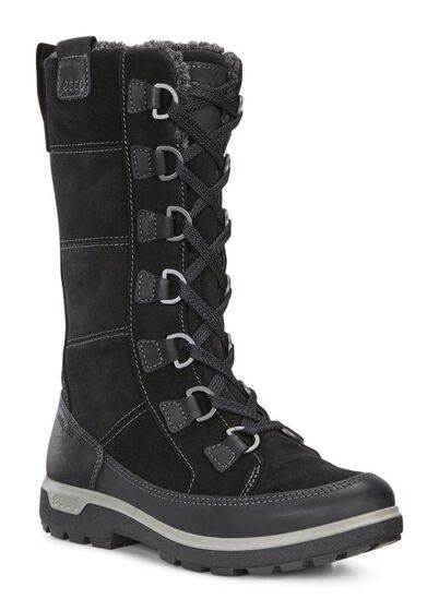 ECCO Womens Gora Tall Boot (BLACK/BLACK)