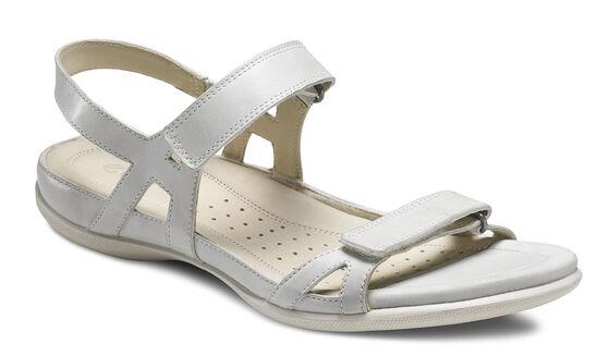 ECCO Flash Ankle Strap Sandal (SHADOW WHITE)