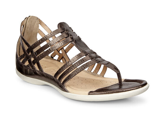 ECCO Flash Lattice T Sandal (LICORICE)