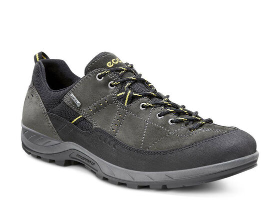 ECCO Mens Yura GTX (BLACK/DARK SHADOW)
