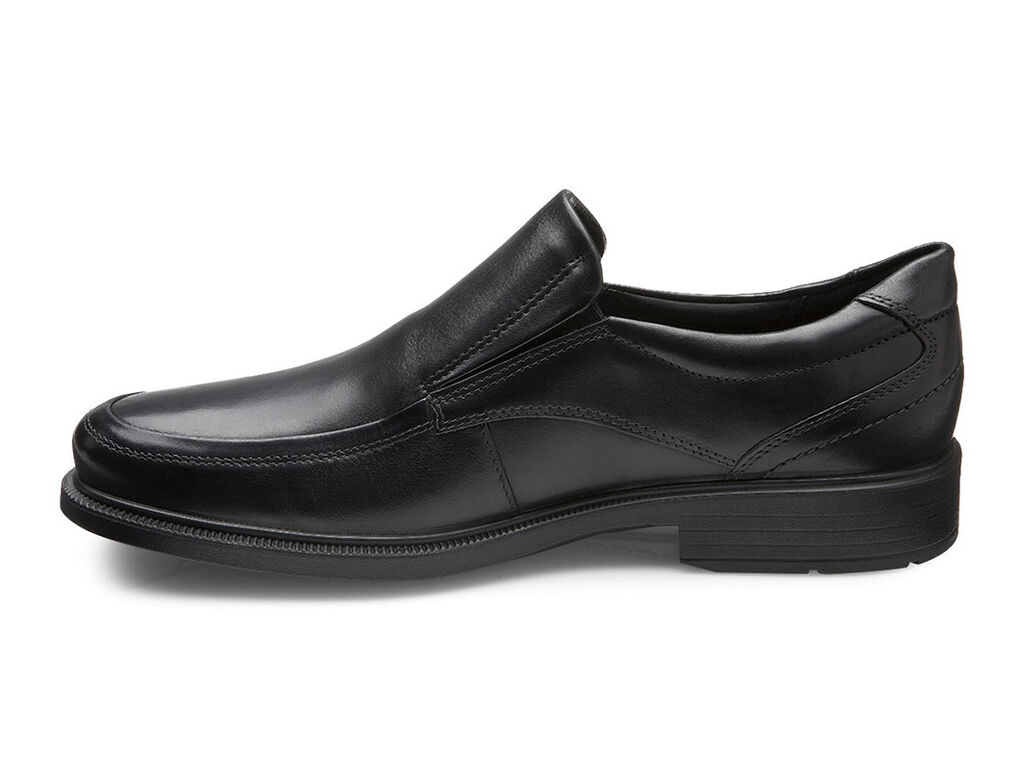 ecco dublin apron toe slip on mens shoes ecco usa