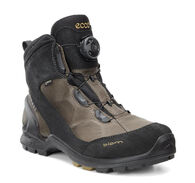 ECCO Mens BIOM Terrain Mid GTX (BLACK/WARM GREY/DRIED TOBACCO)