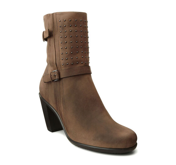 ECCO Touch 75 Mid Cut Bootie (BIRCH)