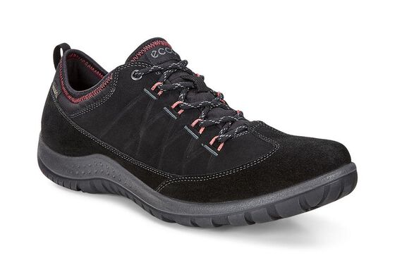 ECCO Womens Aspina Low GTX (BLACK/BLACK)