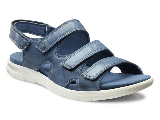 ECCO Babett Sandal 3 Strap (DENIM BLUE)