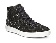 ECCO Mens Soft 7 High TopECCO Mens Soft 7 High Top in BLACK (05001)