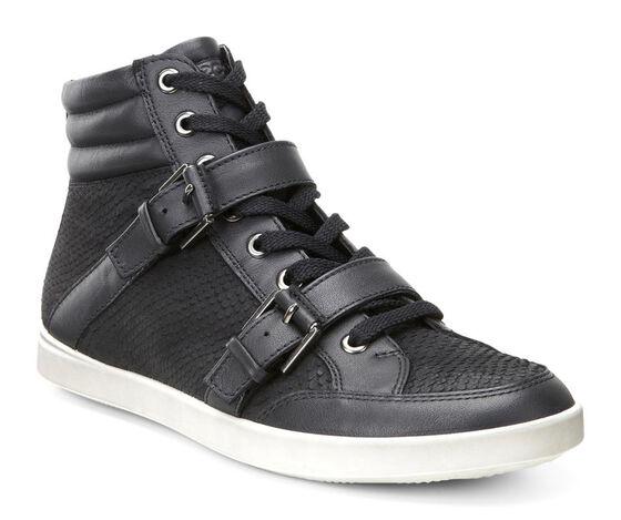 ECCO Aimee Casual Boot (BLACK/BLACK)