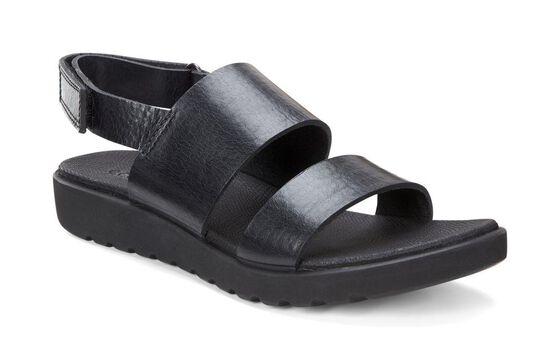 Sandale à deux lanières ECCO Freja (BLACK)