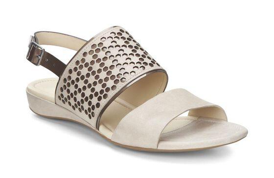 ECCO Bouillon Sandal II (SESAME/GOLD ANTIC)
