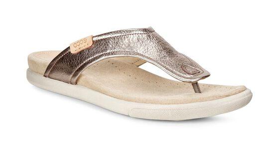 ECCO Damara Thong Sandal (WARM GREY)
