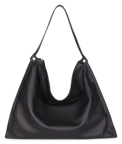 ECCO Sculptured Shoulder Bag (BLACK/BLACK)