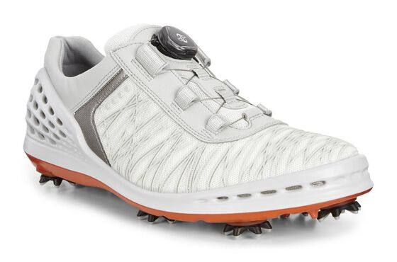 ECCO Mens Cage BOA (SHADOW WHITE/FIRE)
