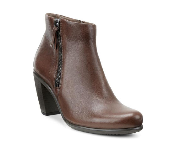 ECCO Touch 75 Ankle Bootie (MAHOGANY)