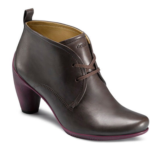 ECCO Sculptured 65 Lace Bootie (COFFEE)