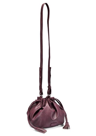 ECCO Candala Drawstring Bag (BORDEAUX)