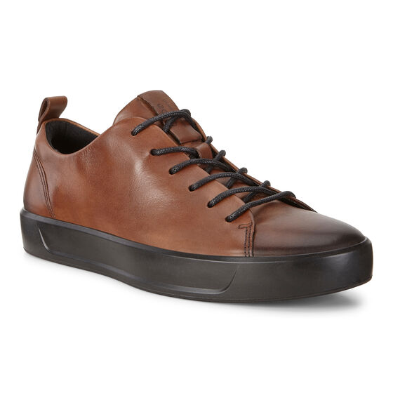 SOFT8 Mens Calf Leather Sneaker (LION)