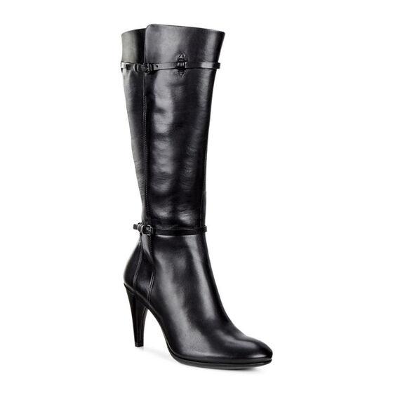 ECCO Shape 75 Sleek Tall Boot (BLACK)