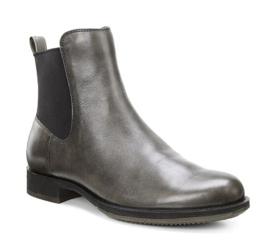 ECCO Saunter Bootie (WARM GREY)