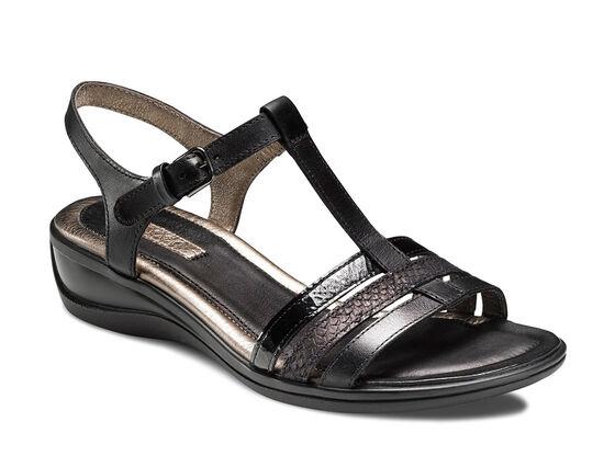 ECCO Sensata Sandal (BLACK/BLACK)