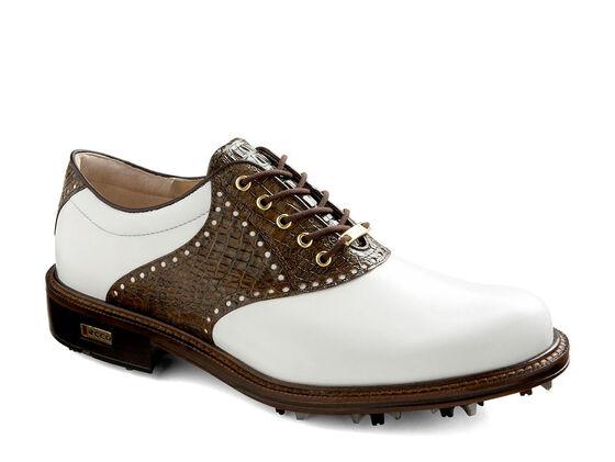 ECCO Mens World Class GTX (WHITE/RUSTIC BROWN)